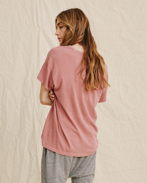 The U-Neck Tee. -- Red Clay