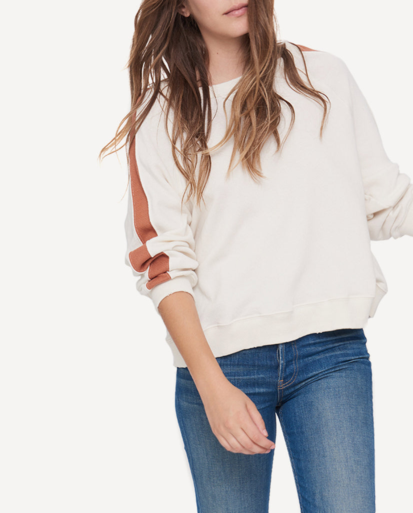 The Cropped Sweatshirt - The Great
