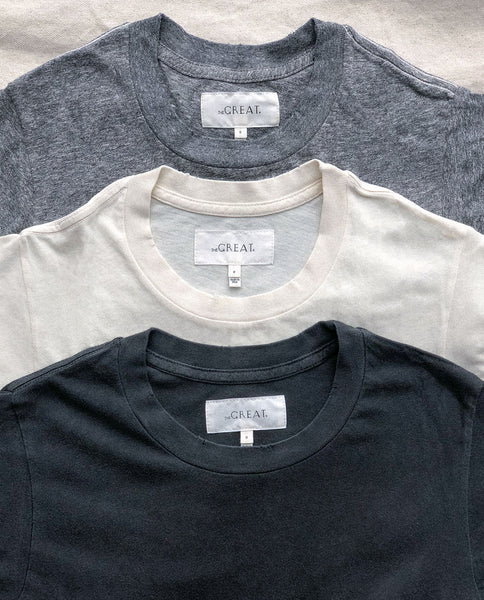 The Slim Tee Set.