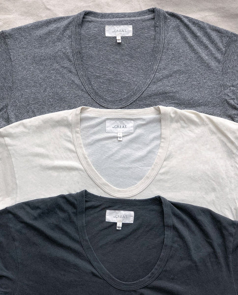 The U-Neck Tee Set.