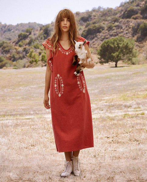 The Vineyard Dress. -- Vintage Saffron