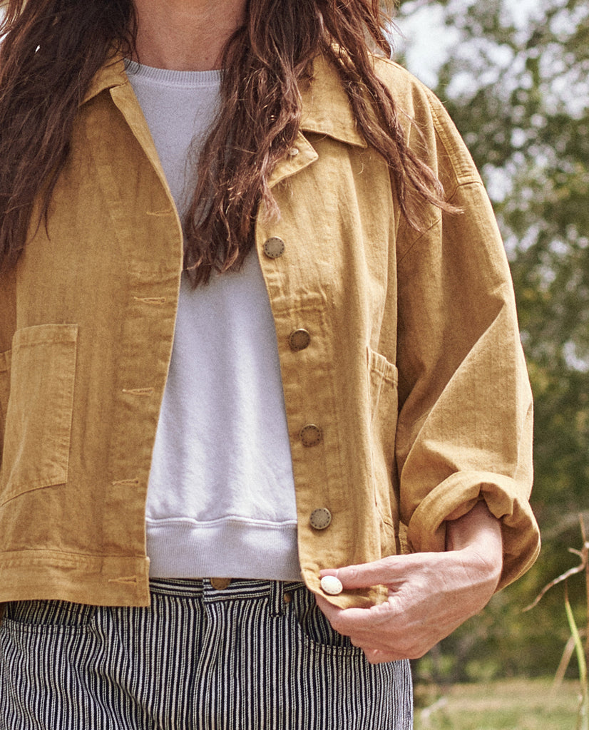 The Herringbone Rancher Jacket. -- DANDELION