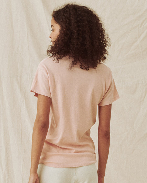The Slim Tee. -- SHELL PINK
