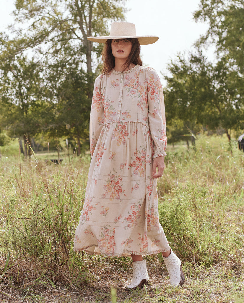 The Fiddle Dress. -- HILLSIDE FLORAL
