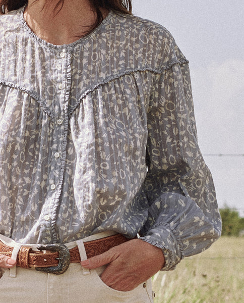 The Folk Top. -- PRAIRIE FLORAL