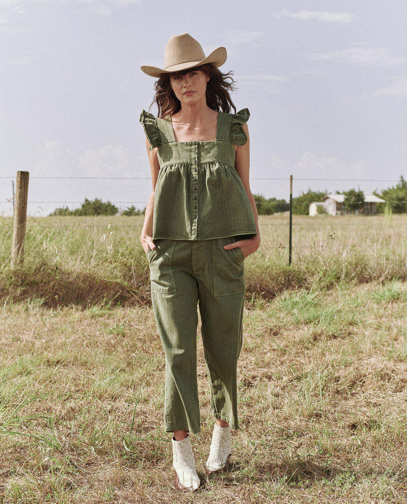 The Herringbone Acre Top. -- ARMY