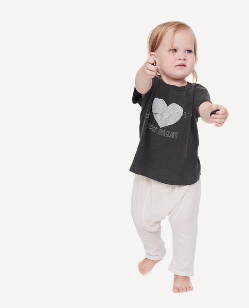 The Little Boxy Crew. -- Washed Black with Sweetheart Graphic