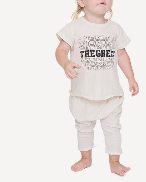 The Little Boxy Crew. -- Washed White with Black Standards Graphic