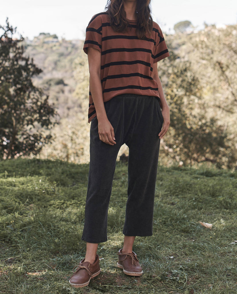 The Boxy Crew. Stripe -- RUST STRIPE