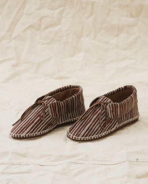 Exclusive The Canyon Moccasin. -- Dusk Stripe