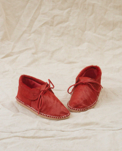 Exclusive The Canyon Moccasin. -- Red