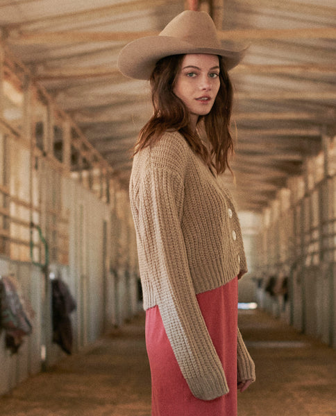 The Cropped Montana Sweater. -- PUTTY