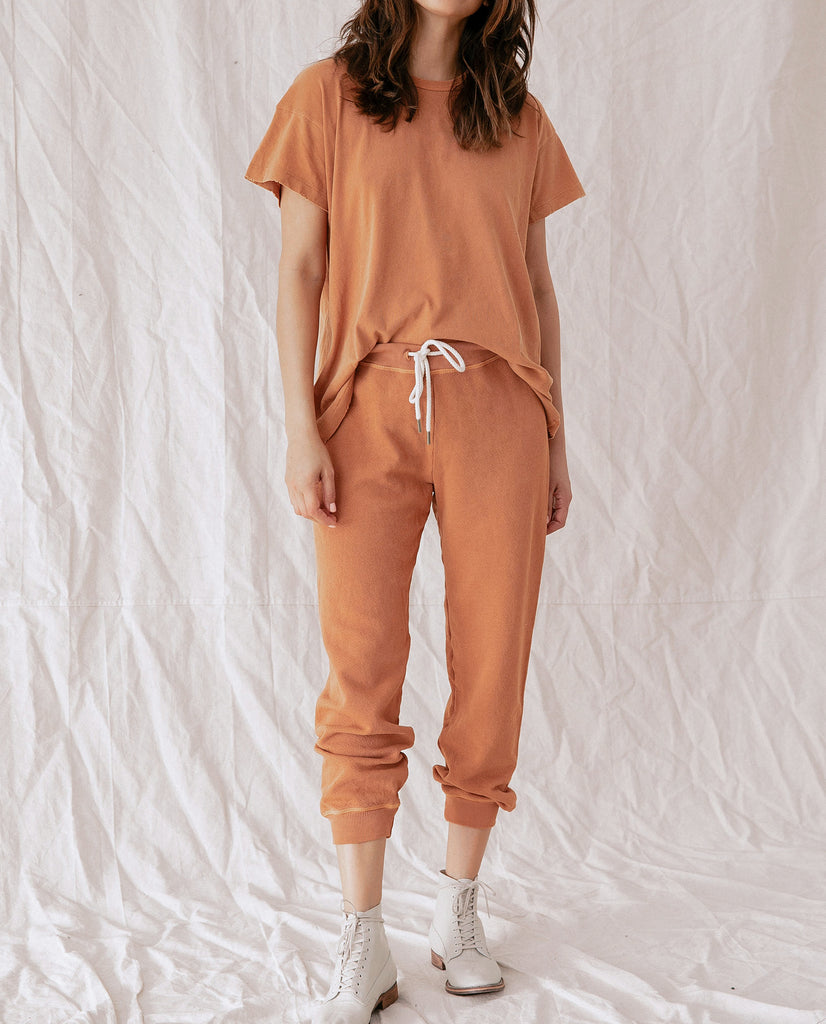 The Cropped Sweatpant. -- SPICE