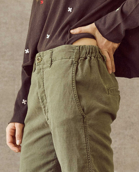 The Easy Army Pant. -- Army