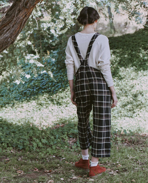 The Easy Overall. -- WOODLAND PLAID