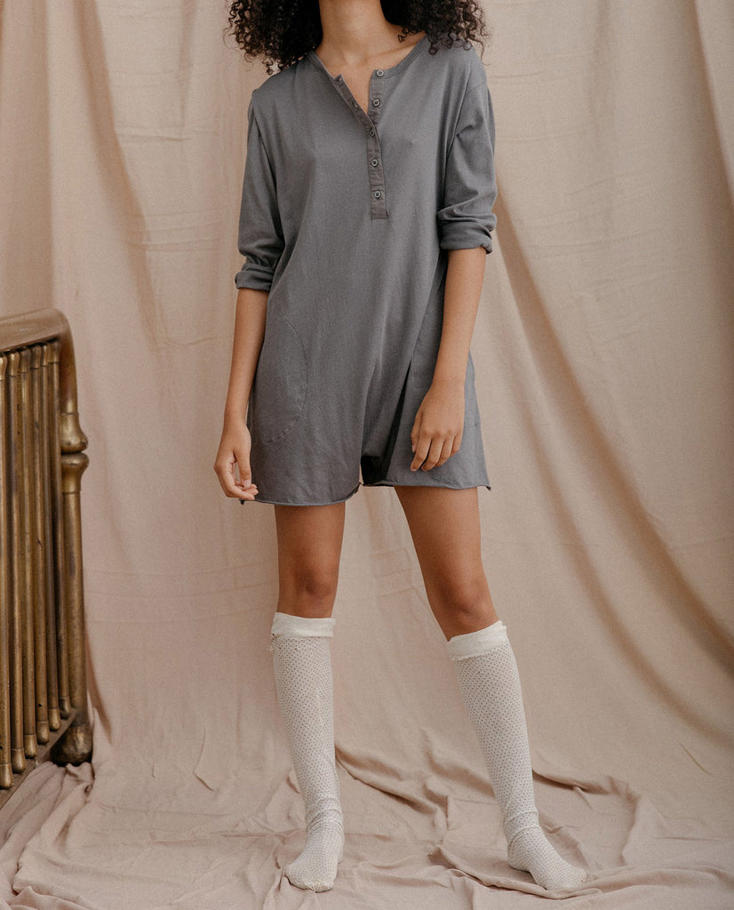 The Henley Romper. -- DUSK