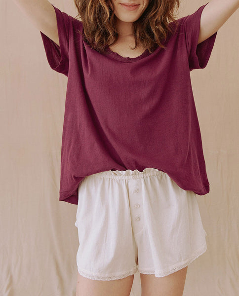 The Lace Tee. -- BOYSENBERRY