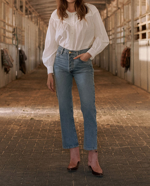 The Lasso Jean. -- BRONCO WASH
