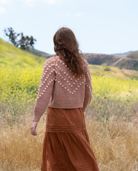 The Marled Bobble Sweater. -- SAVANNA ROSE