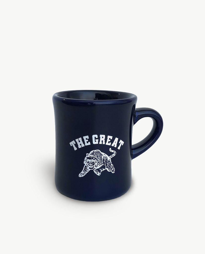 The Great Diner Mug. -- NAVY