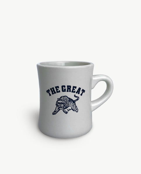 The Great Diner Mug. -- CREAM
