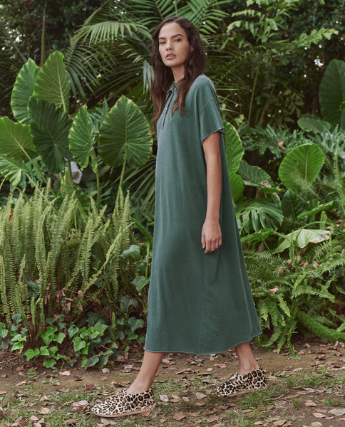 The Polo Dress. -- PALM LEAF