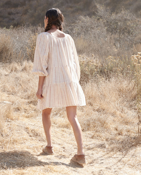 The Prairie Dress. -- SADDLE STRIPE