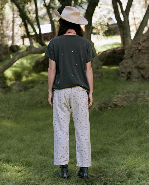 The Ranger Pant. -- ROSE BLOOM PRINT