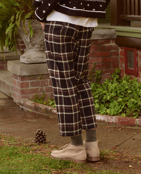 The Ranger Pant. -- WOODLAND PLAID