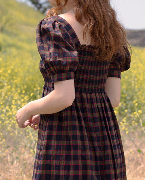 The Savanna Dress. -- SPLENDOR PLAID