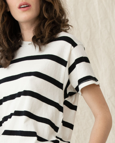 The Slim Tee. Stripe -- PREP STRIPE