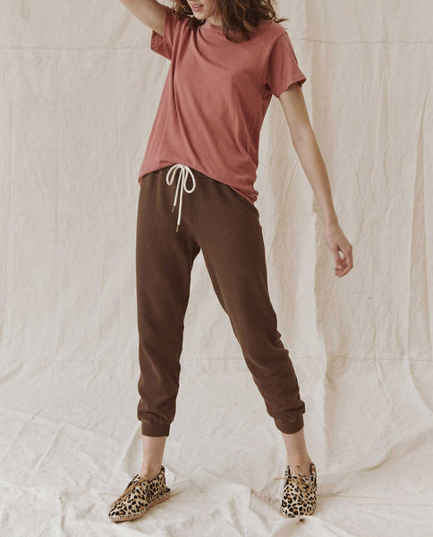 The Slim Tee. Solid -- VINTAGE DUSTY ROSE