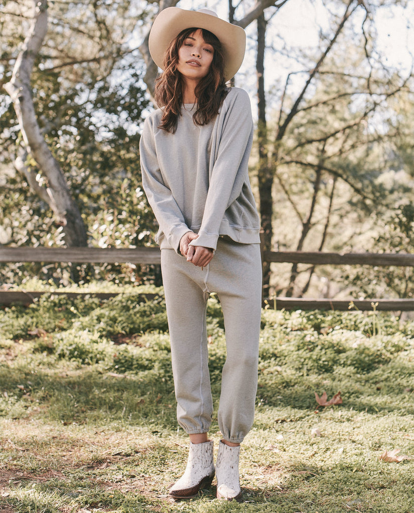 The Slouch Sweatshirt. -- MARLED SAGE