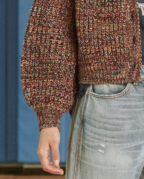 The Sophomore Cardigan. -- WOODLAND MULTI