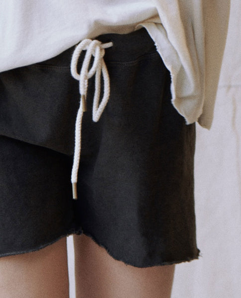 The Sweat Short. -- Washed Black