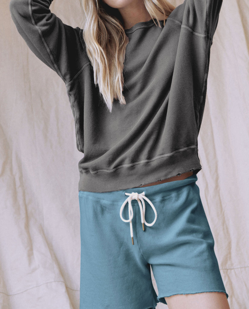The Sweat Short. -- TURQUOISE