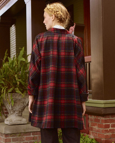The Swing Coat. -- ALPINE PLAID