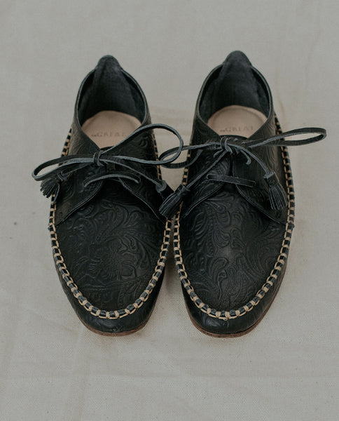 The Tooled Lake Shoe. -- Black