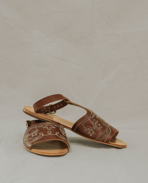 The Western Sandal. -- Cognac