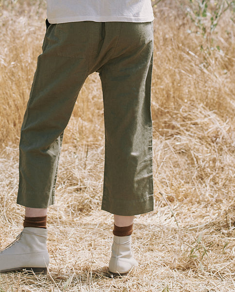 The Wide Leg Harem Pant. -- BEAT UP ARMY