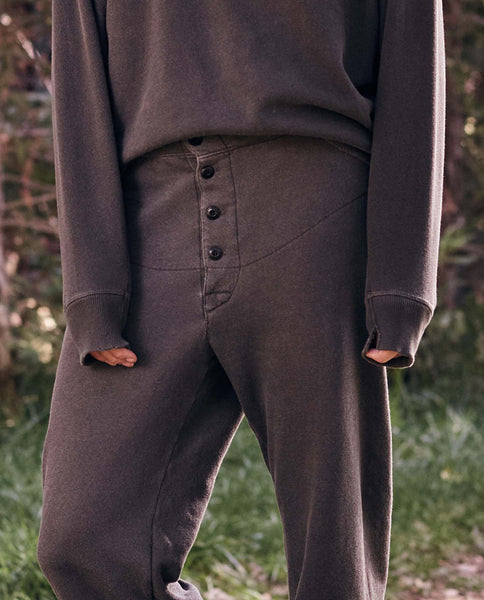 The Cabin Sweatpant. -- Washed Black