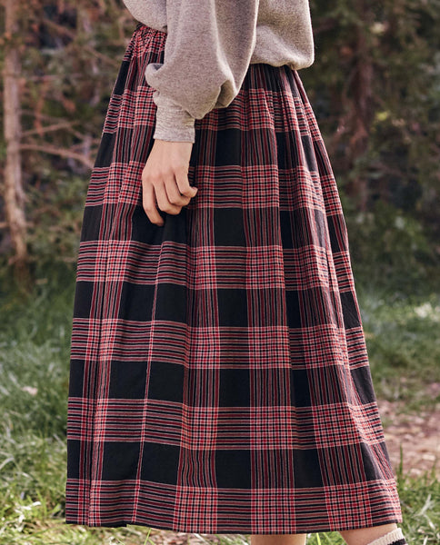 The Kindred Skirt. -- Cabin Plaid