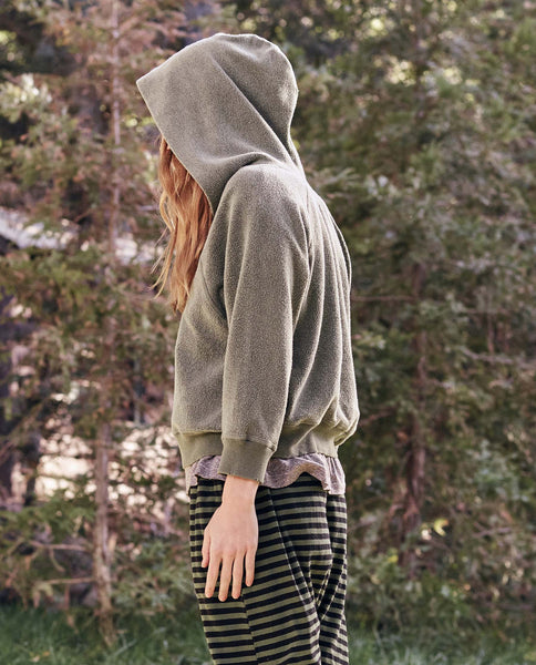 The Notch Hoodie. -- Pine Sherpa