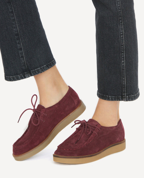 The Scout Shoe. -- Burgundy