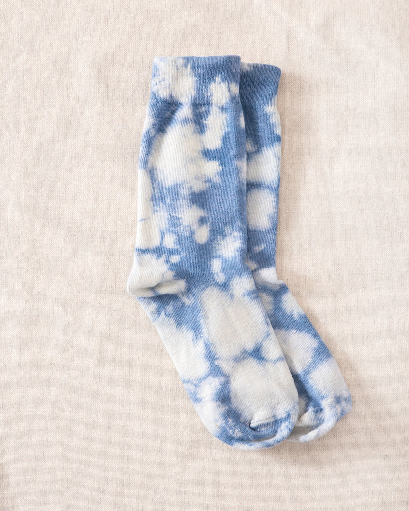 The Great Tie Dye Sock. -- Cloud Wash