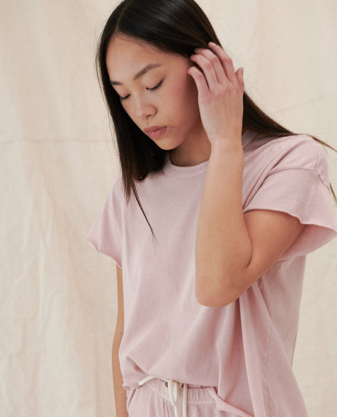 The Crop Tee. -- CARNATION