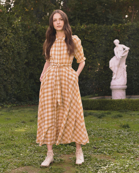 The Enchanting Dress. -- BUTTERCUP GINGHAM