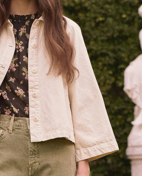 The Excursion Jacket. -- Cream