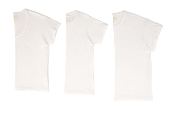 The Favorite Tee Set. -- True White