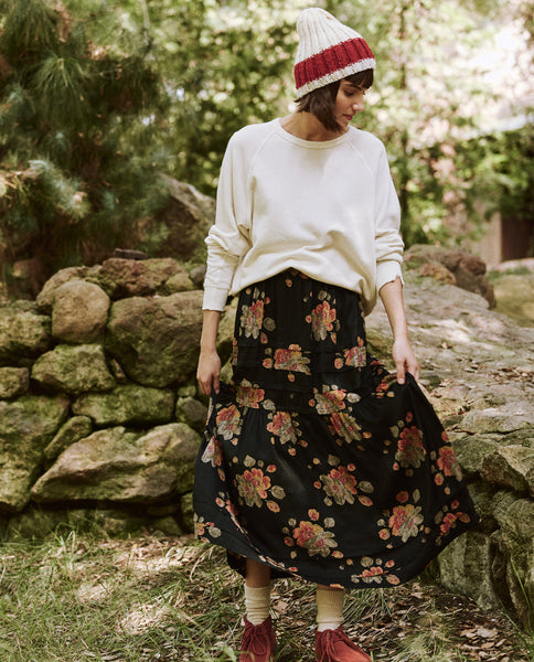 The Frontier Skirt. -- Winter Floral